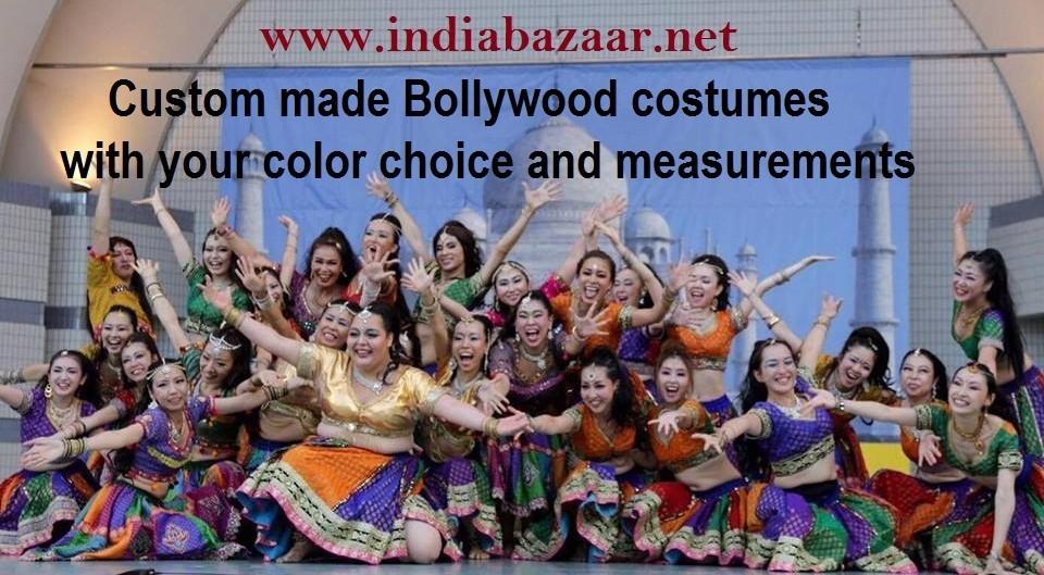 custom made bollywood costumes