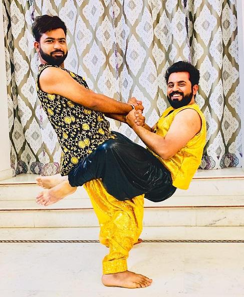 Bollywood Boys costumes