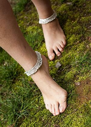 Bollywood anklet