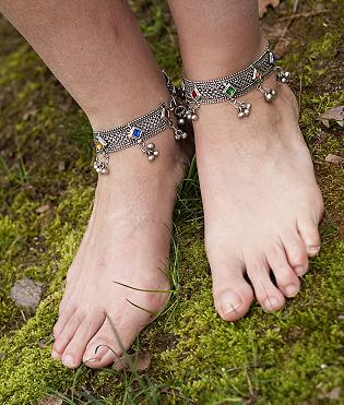 Tribal Anklets