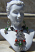 tribal Choker necklace with earrings