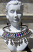 tribal necklace with earrings