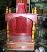 wooden embossed mandir temple