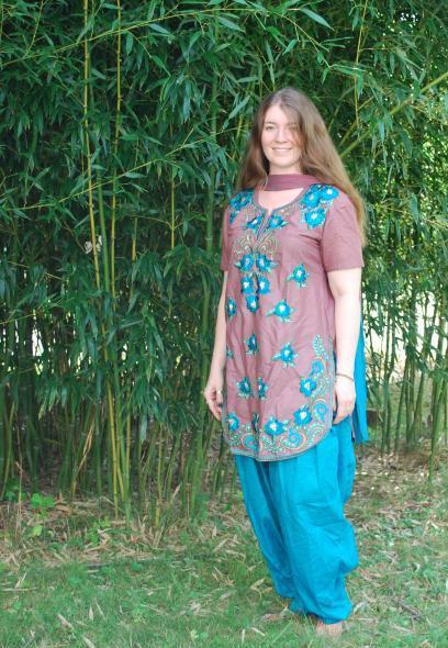 Indian salwar style
