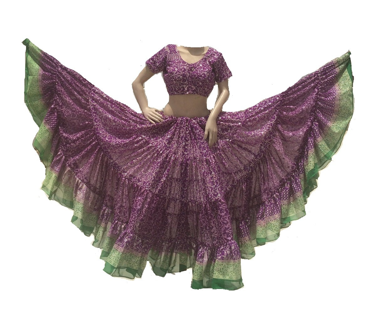 Matching choli can be made like this image in $25 extra