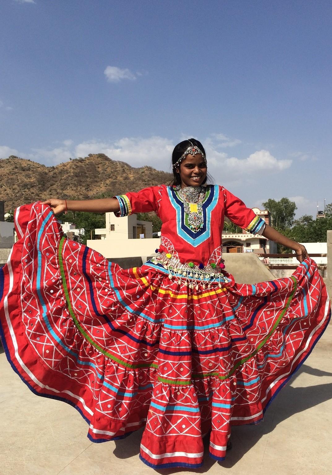 Kalbeliya costume 7