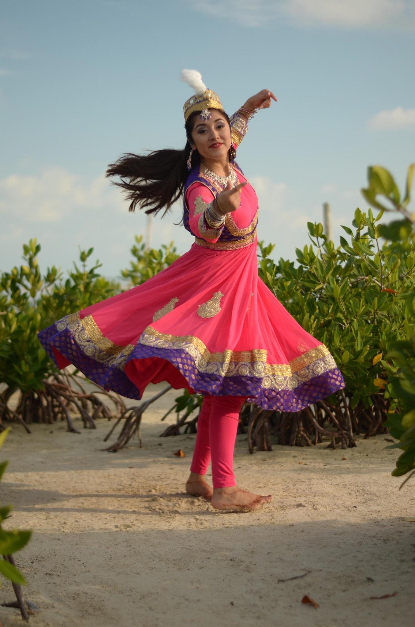 Anarkali costume