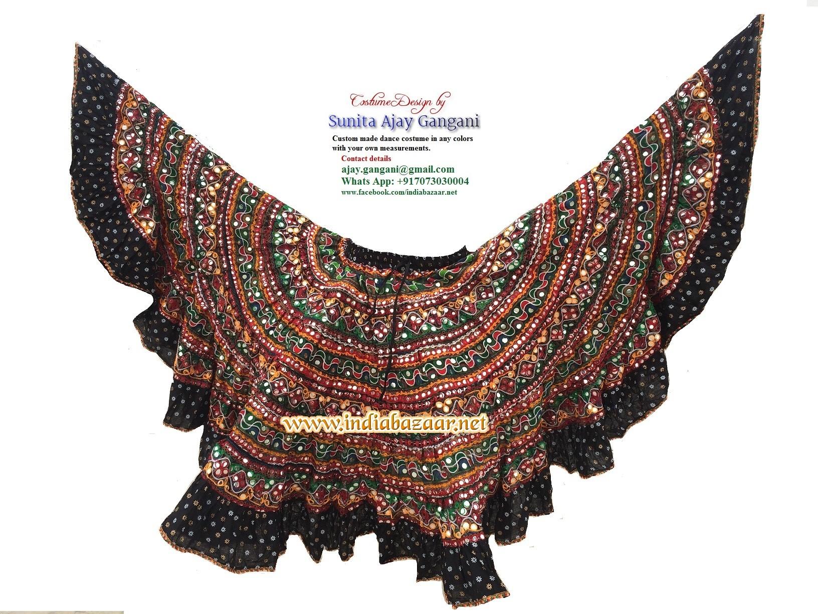 banjara skirts black  17