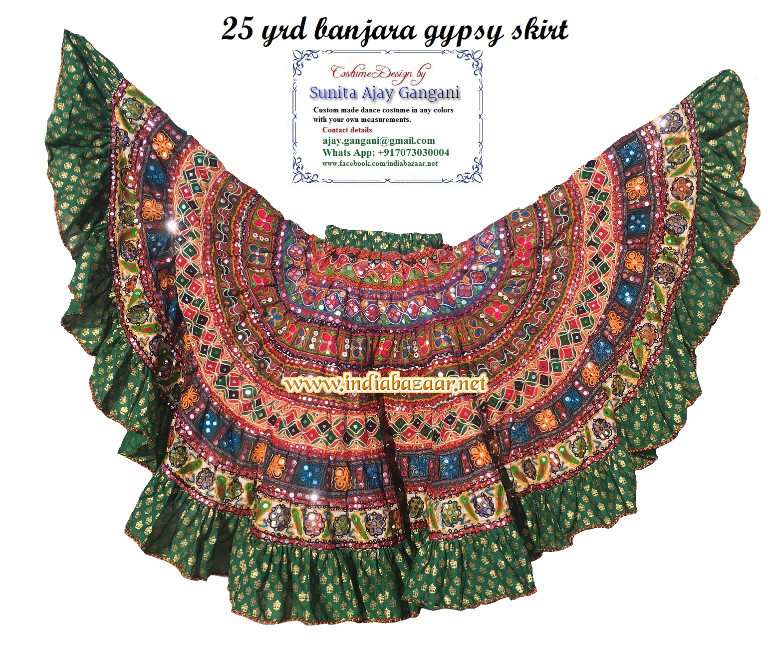 banjara skirts 27 Multi
