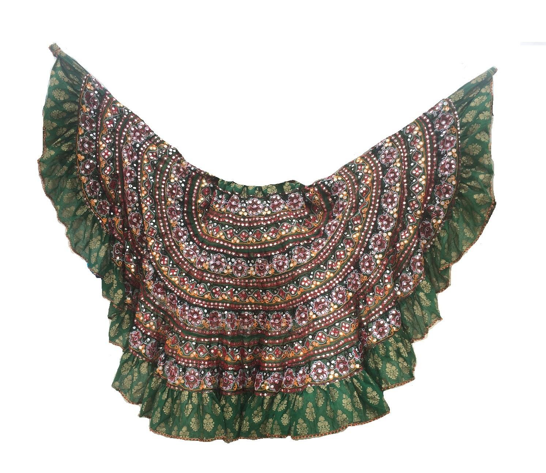 Banjara skirt 4 Green