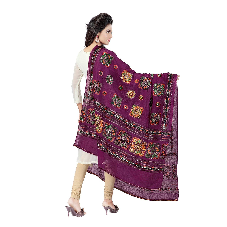banjara tribal veil purple