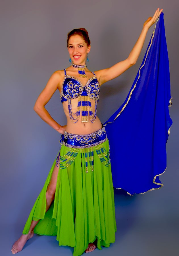 Belly dance costume 53