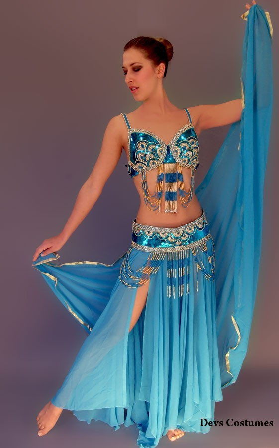 Belly dance costume 57