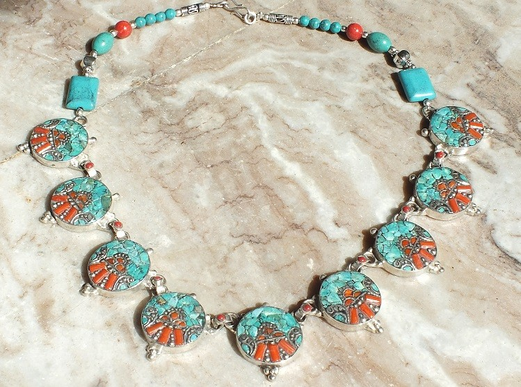 Tribal kuchi Beaded necklace 6