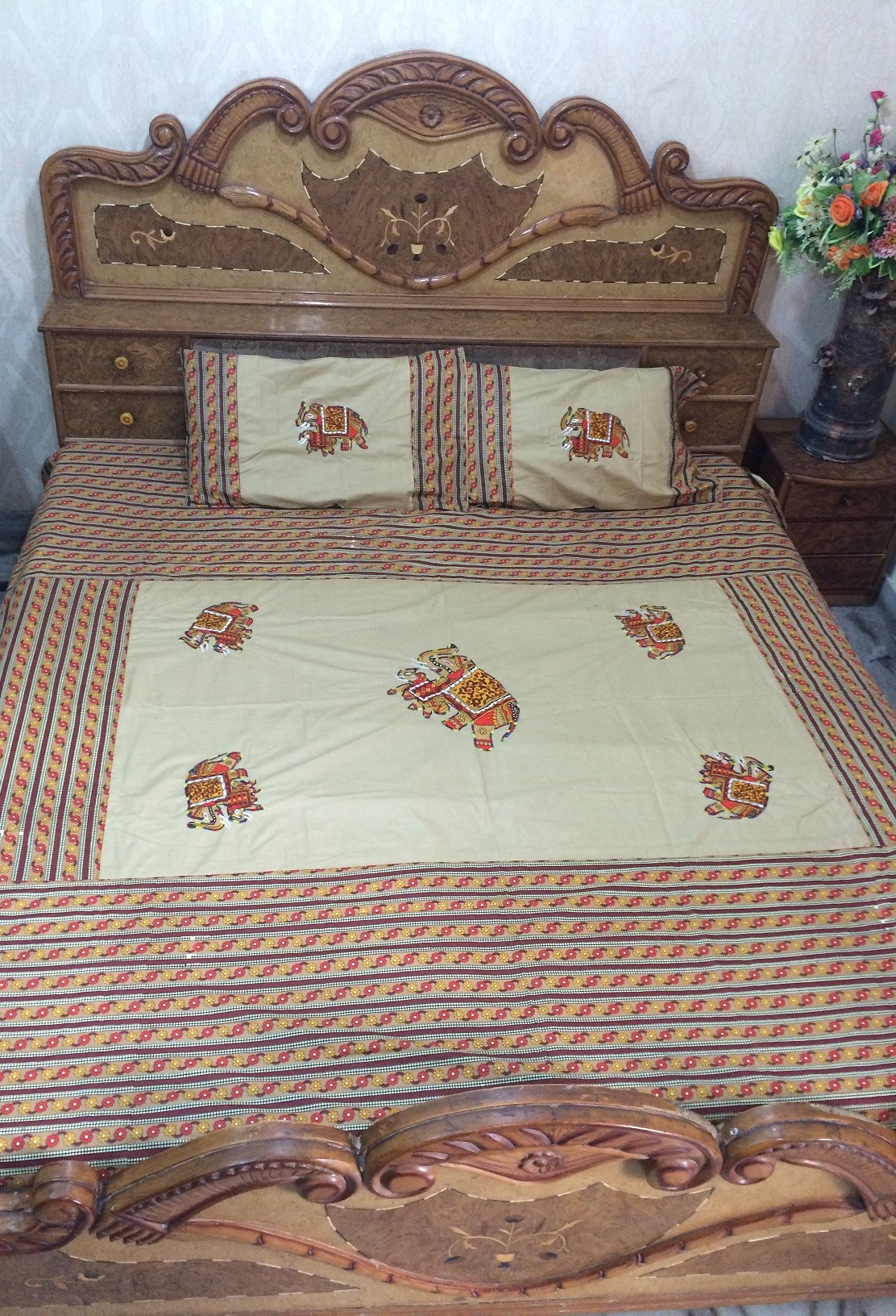 Indian Bed sheet 11