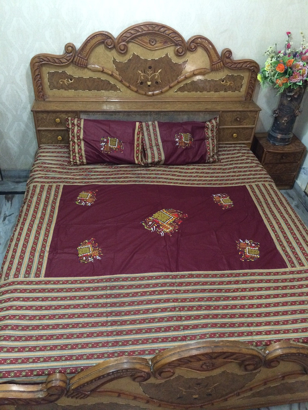 Indian Bed sheet 20