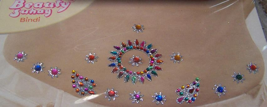 Belly bindi 108