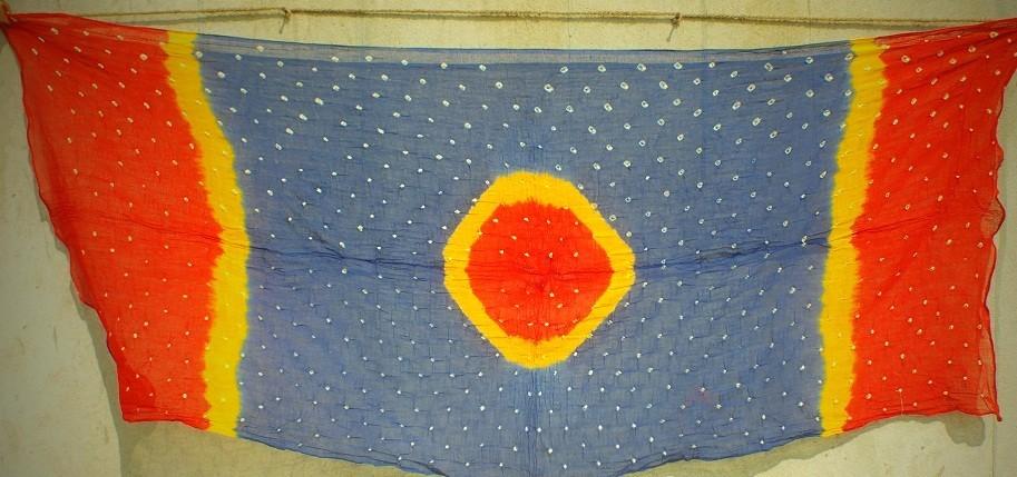 Bhandhani tie dye Scarf 21