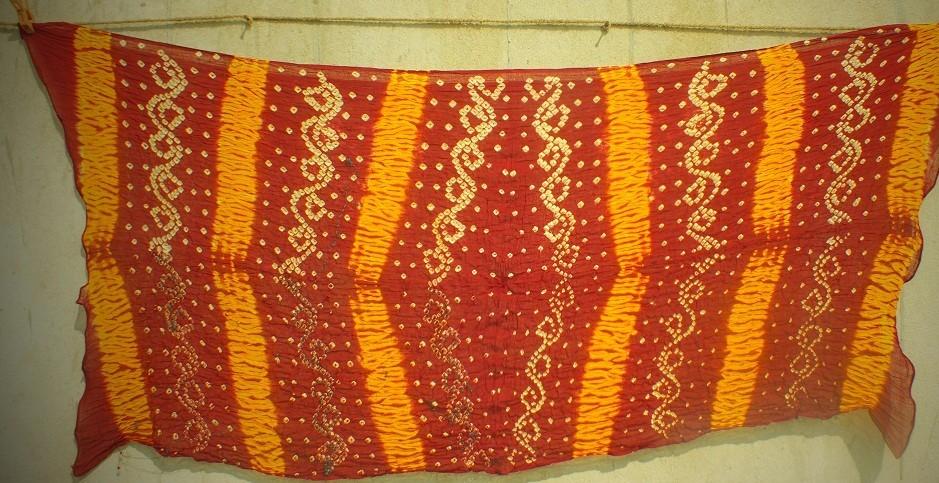Bhandhani tie dye Scarf 4
