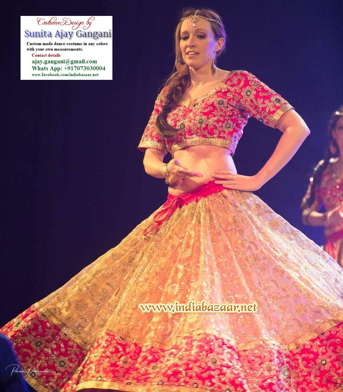 Bollywood dance costume 72