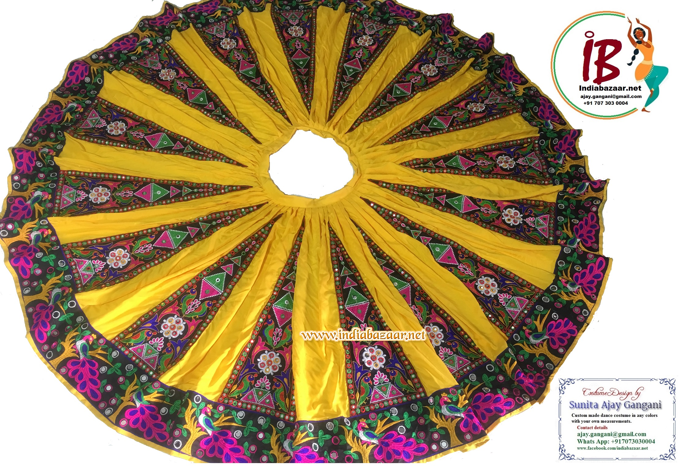 Bollywood dance costume 79