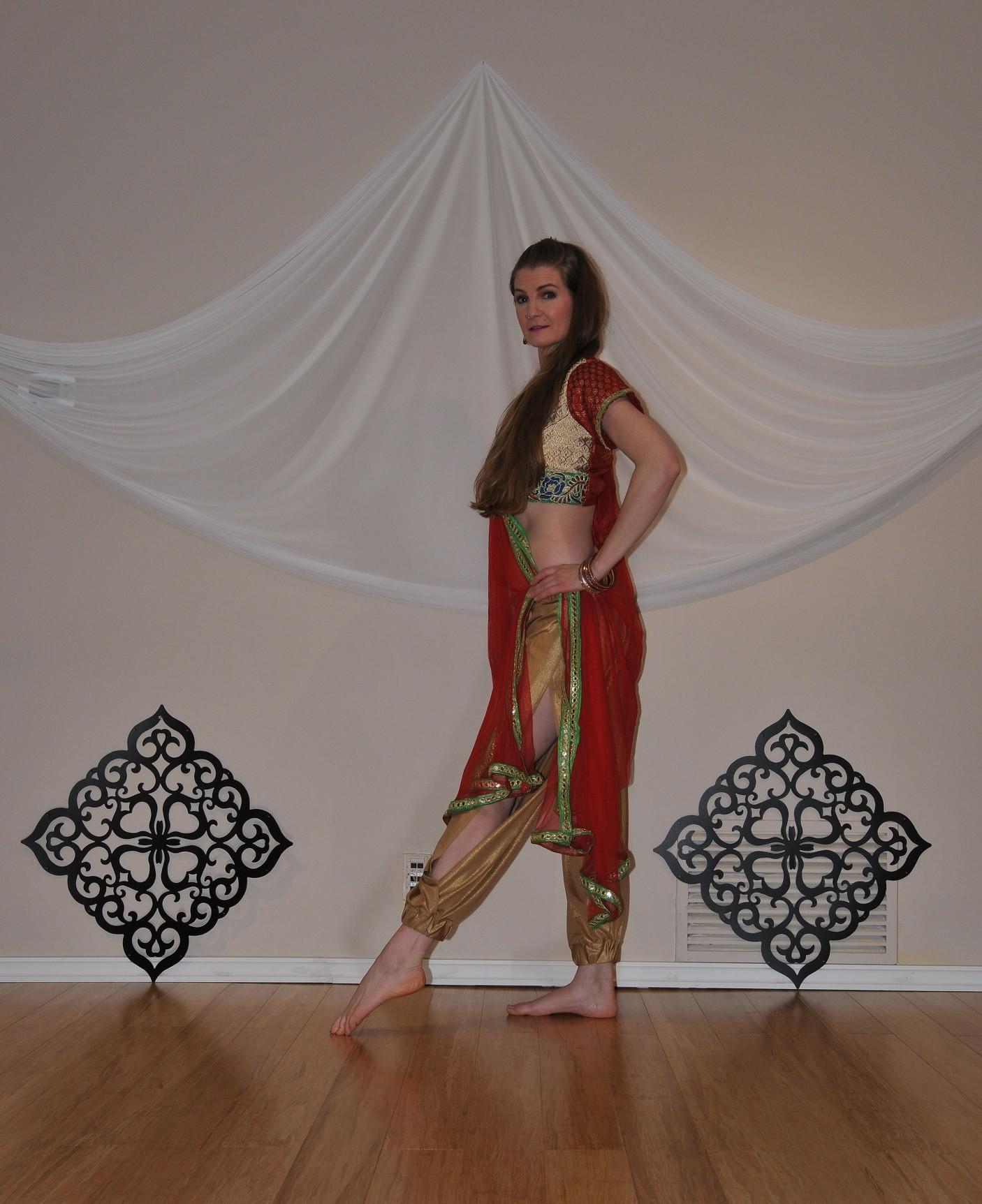 Bollywood dance costume 80