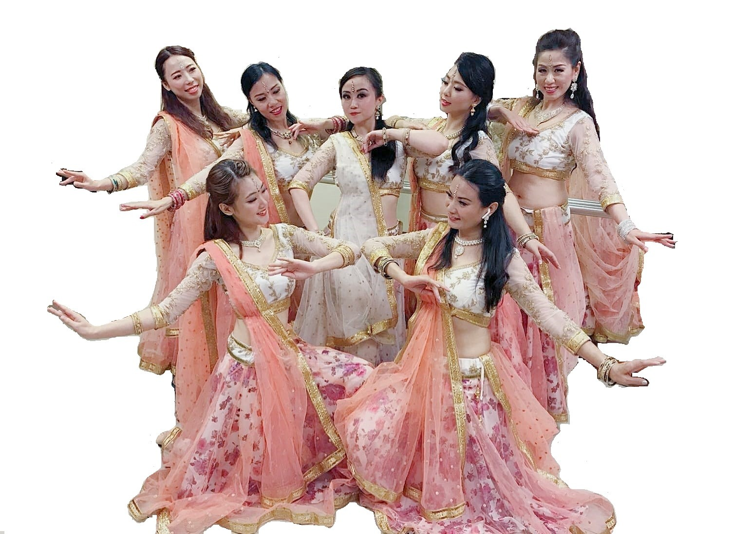 Bollywood dance costume 96