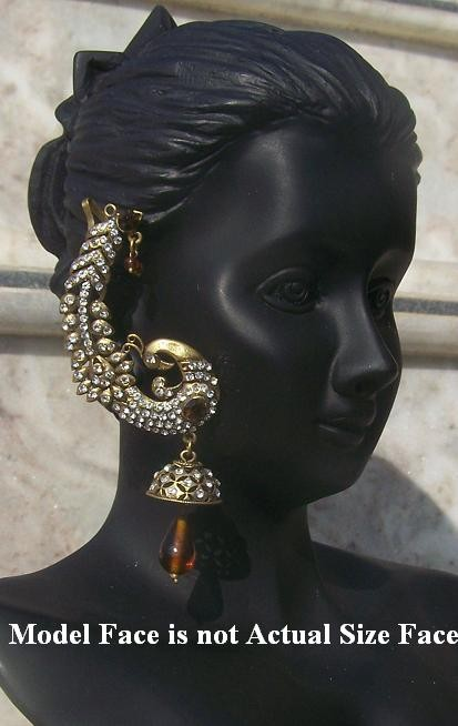 Bollywood earrings 1