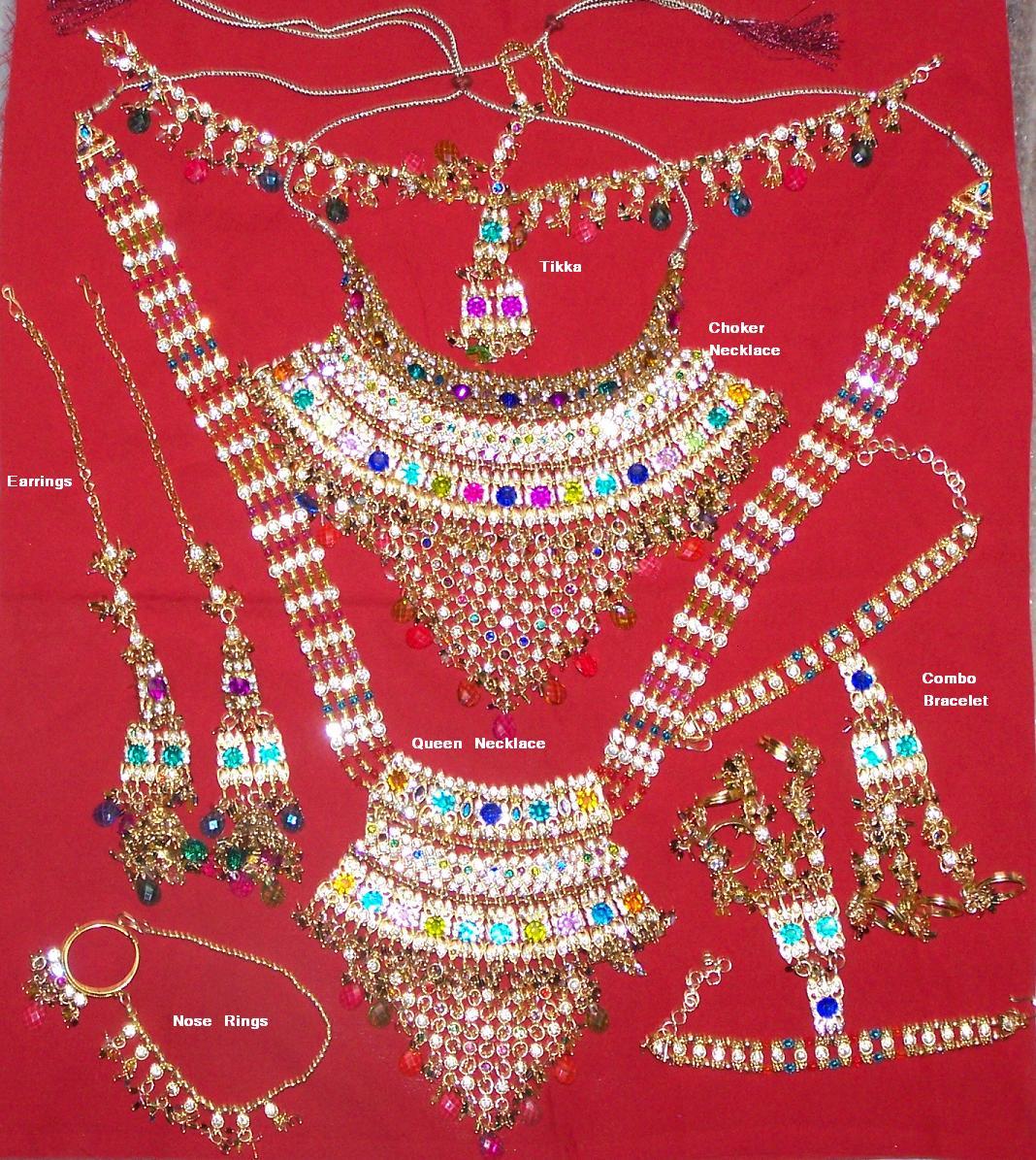 Bollywood bridal Jewellery 1