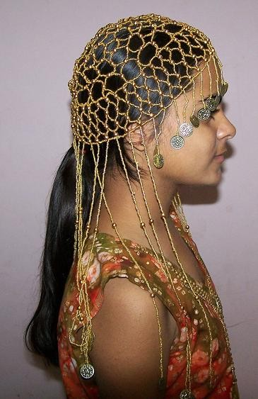 Beaded head piece 2