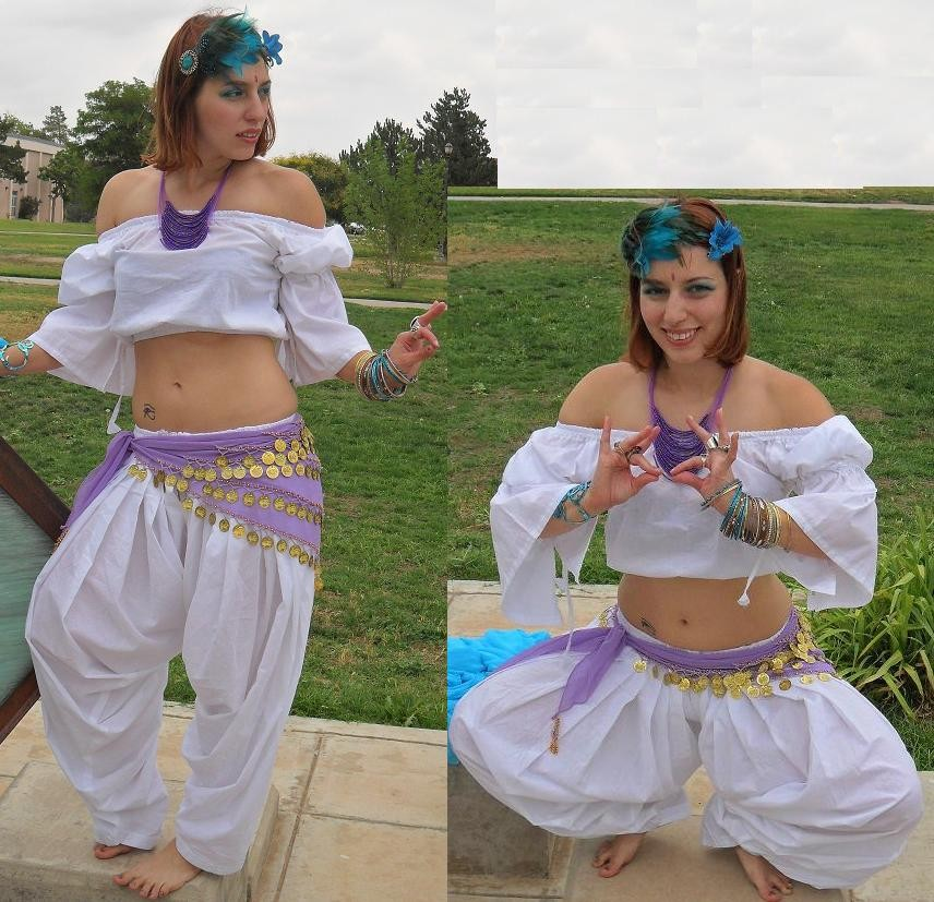 belly dance patiala costume