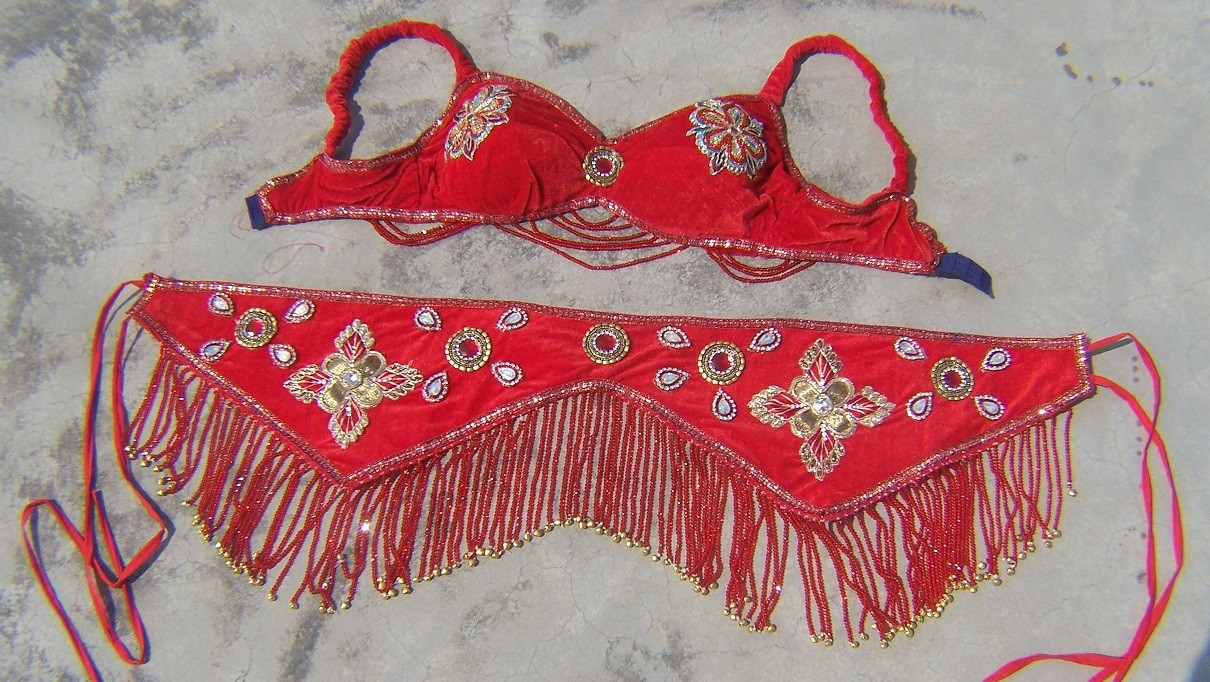 Belly dance costume 44