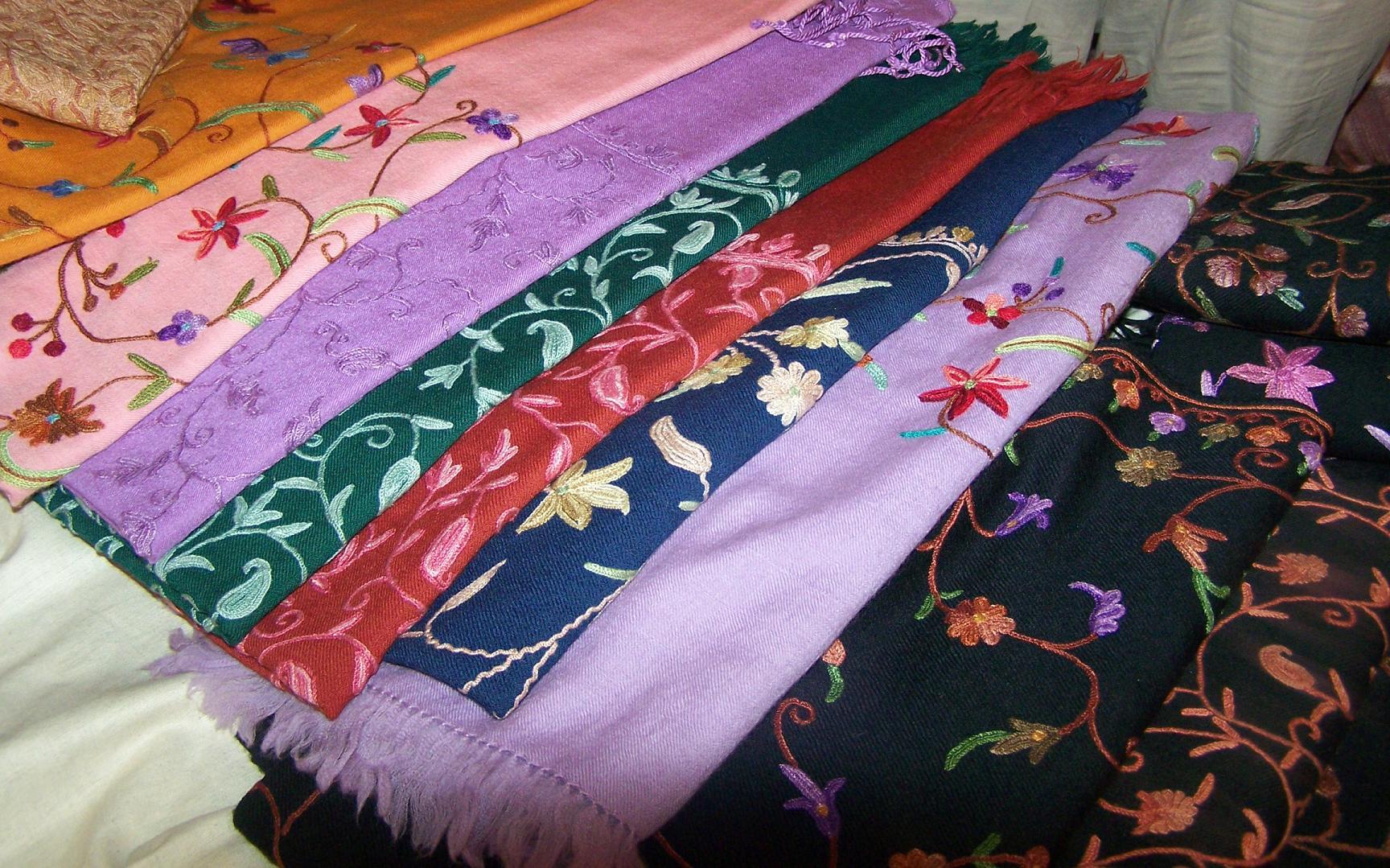 Kashmir shawls