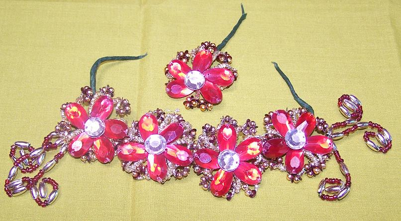 Hair brooch 8