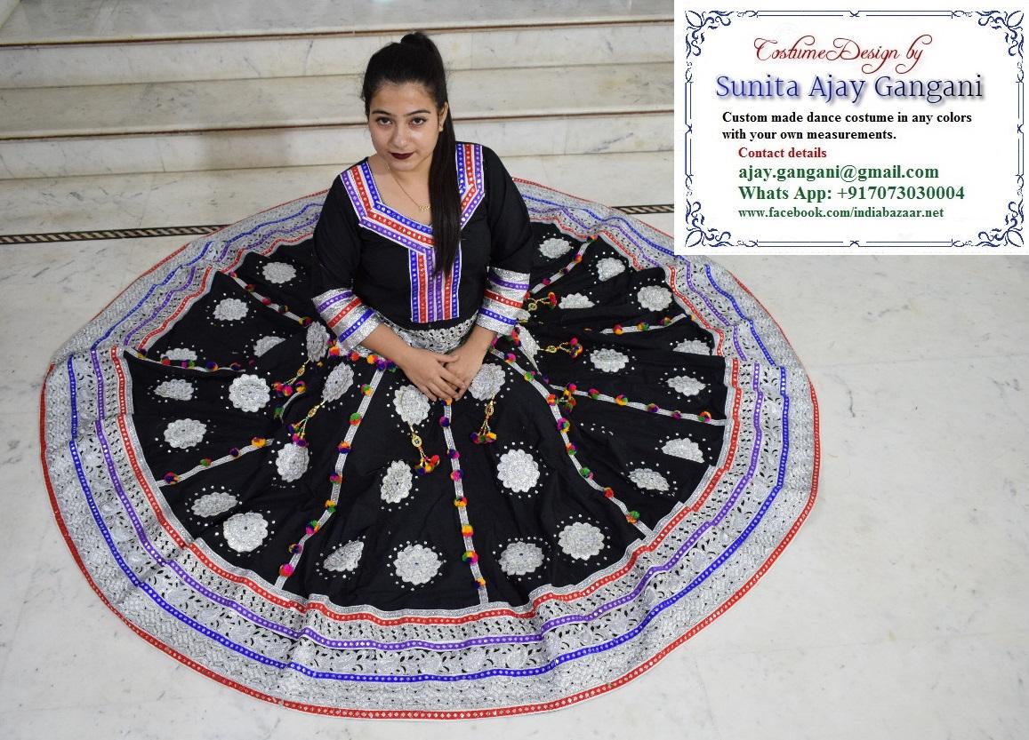 Kalbeliya costume 13