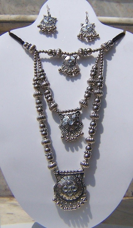 Tribal Kalbeliya necklace 10