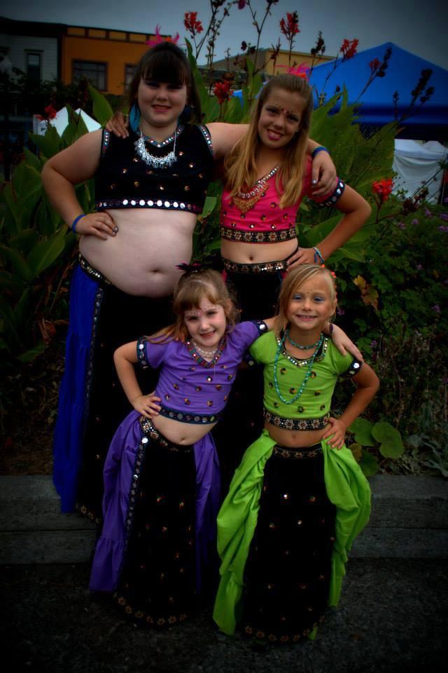 belly dance gypsy costume