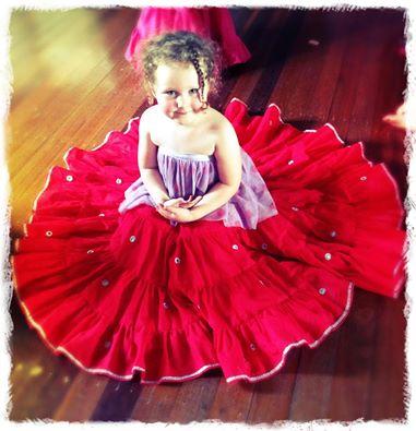 kids shisha gypsy skirts 8