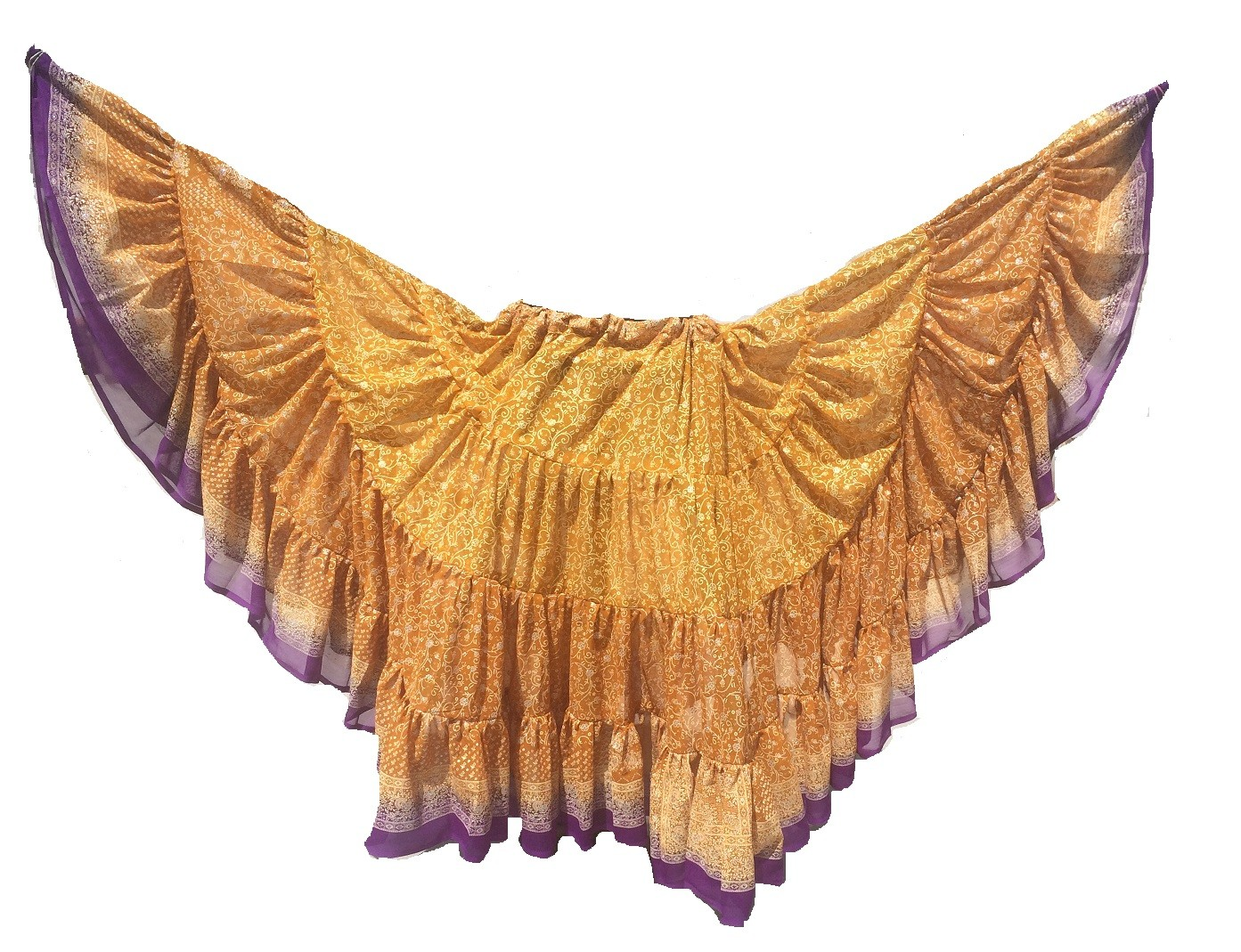 Gold Maharani skirt 5
