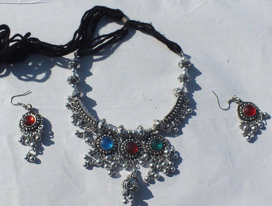 Tribal indian necklace 108