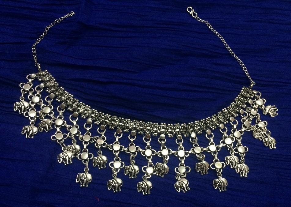 Tribal kuchi necklace 109