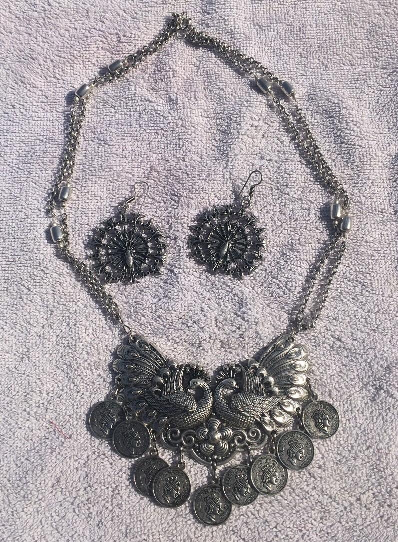 Tribal kuchi necklace 115
