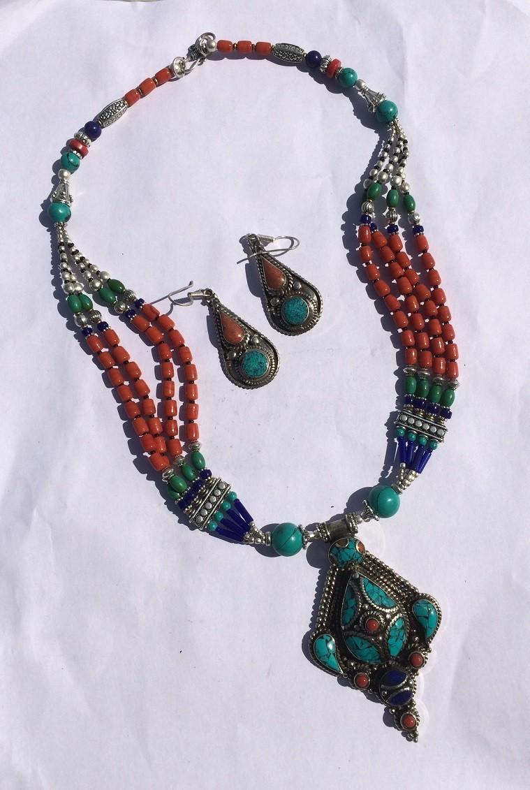 Tribal kuchi necklace 120