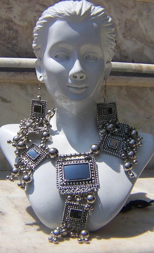 Tribal kuchi necklace 121