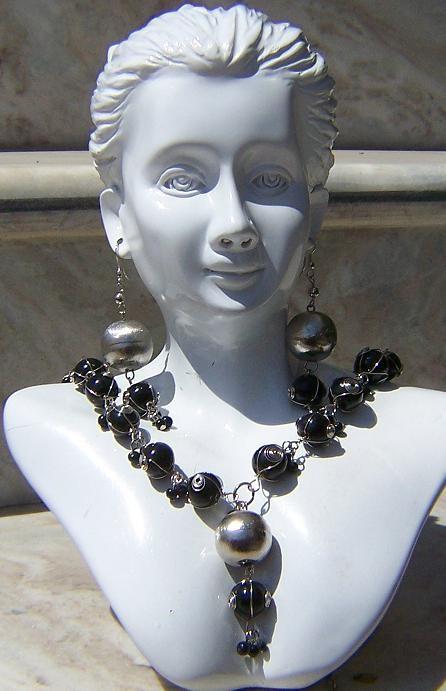 Tribal kuchi necklace 123