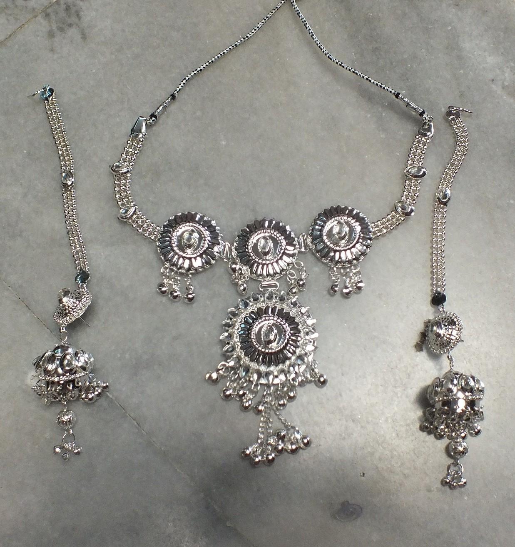 Tribal kuchi necklace 126