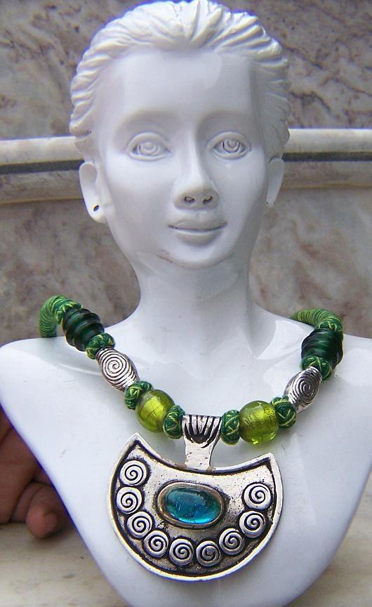 Tribal kuchi necklace 21