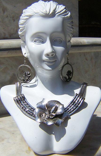 Tribal kuchi necklace 23