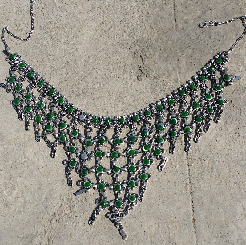 Tribal kuchi necklace 25