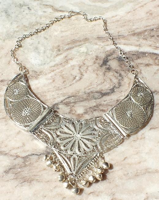 Tribal kuchi necklace 27